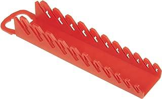 Ernst Manufacturing Gripper Stubby Wrench Organizer, 11 Tool, Red Brand Ernst Manufacturing