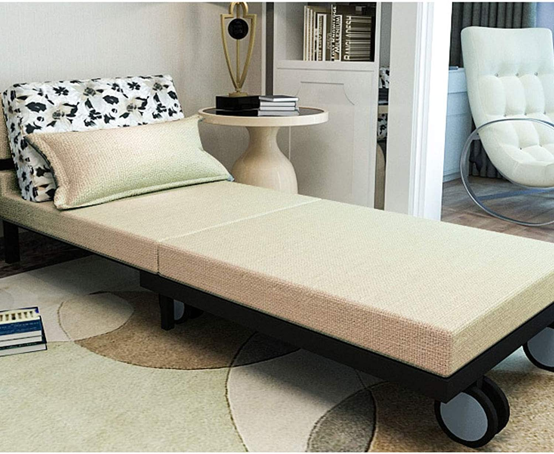 調節可能なベッド-5分間の組み立て-ソファとベッド-多機能折りたたみベッド,80