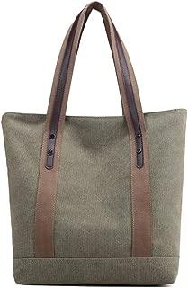 Women's Handbags Canvas Shoulder Bags Retro Casual Tote Purses