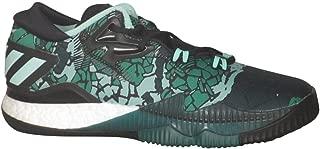 Adidas Men's Crazylight Boost Low 2016 Halloween Basketball Black/Green/CGree 8.5 D(M) US