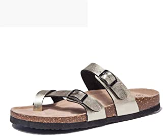 f7c9f04d47c9d TF STAR Adjustable Mayari Flat Leather Casual Sandals for Women   Ladies