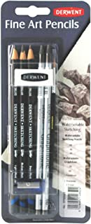 Derwent Water Soluble Sketching Mixed Media, Pack, 8 Count (0700665)