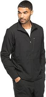 Dynamix DK310 Men's Zip Front Warm-Up Solid Scrub Jacket