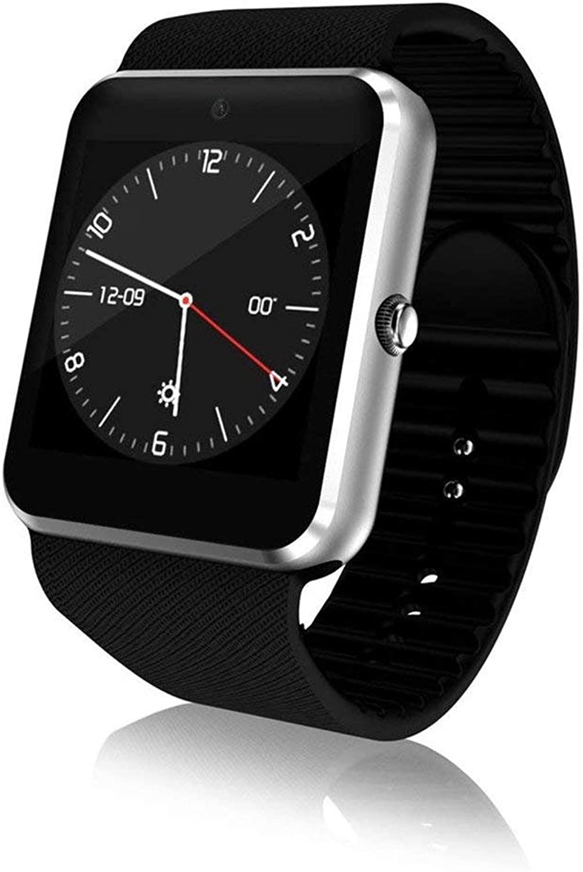 KTYX Intelligente Uhr WiFi Blautooth Smart Call Smart Erinnerung Business Fashion Watch Smartwatch (Farbe   Style B)