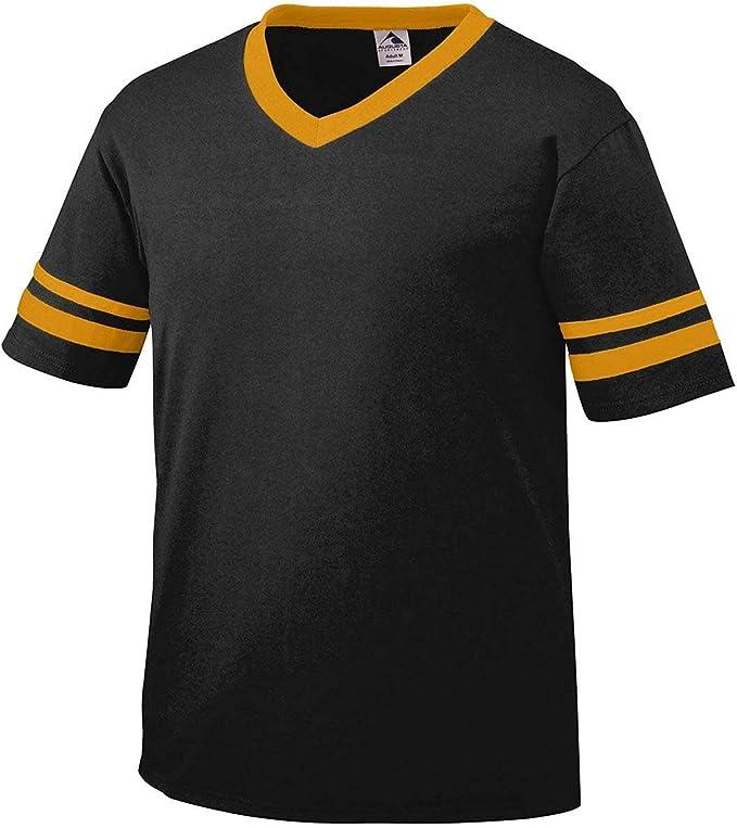 Amazon.com: Augusta Sportswear camiseta a rayas con mangas, Multi, S : Todo lo demás