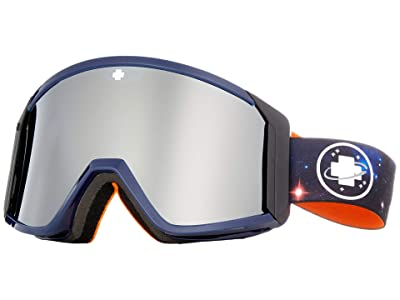Spy Optic Raider (Galaxy Blue/Bronze/Silver Spectra Mirror/Persimmon) Snow Goggles