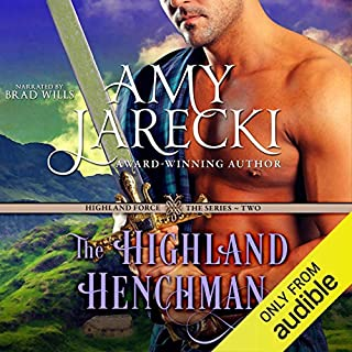 The Highland Henchman audiobook cover art