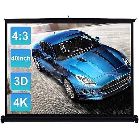 Docooler 40 Zoll Hd Projekor Bildschirm Manuell Pull Up Elektronik