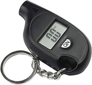 VeliHome Testador de pressão de ar portátil mini LCD digital para pneu de carro, caminhão, bicicleta, 3 a 150 psi, testado...