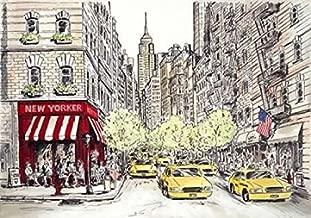 Posterazzi New Yorker Poster Print by Chloe Marceau, (10 x 14)