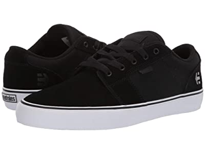 etnies Barge LS (Black/White/Black) Men