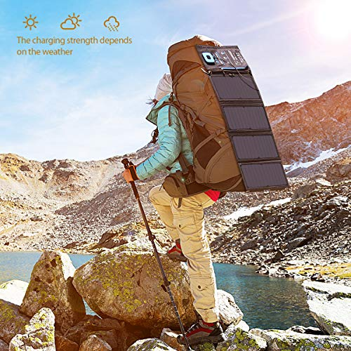 Hiking With Portable Solar Panel Chargers