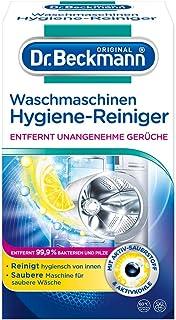 Dr. Beckmann Waschmaschinen Hygiene-Reiniger | Maschinenreiniger mit Aktivkohle 1 x 250 g
