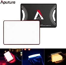 Aputure AL-MC RGBWW Pocket Led Video Light,3200K-6500K, Support Magnetic Attraction, App Control, TLCI/CRI 96+, HSI/FX/CCT Mode, with USB Type-C/Qi Wireless Charging