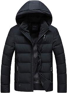 APTRO(アプトロ)メンズ ダウンコート ダウンジャケット 中綿ダウン 秋冬コート 分厚い アウターコートフード着脱可 暖かい 撥水 防寒コート