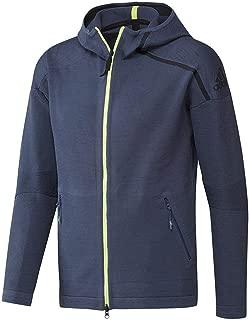adidas Men's Z.N.E. Tennis Warm-Up Hoodie Blue