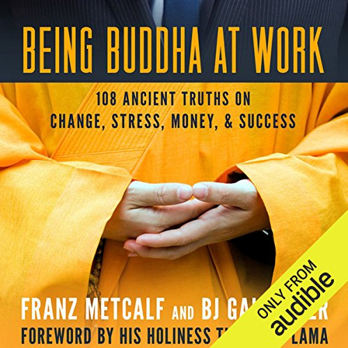 Being Buddha at Work audiobook cover art