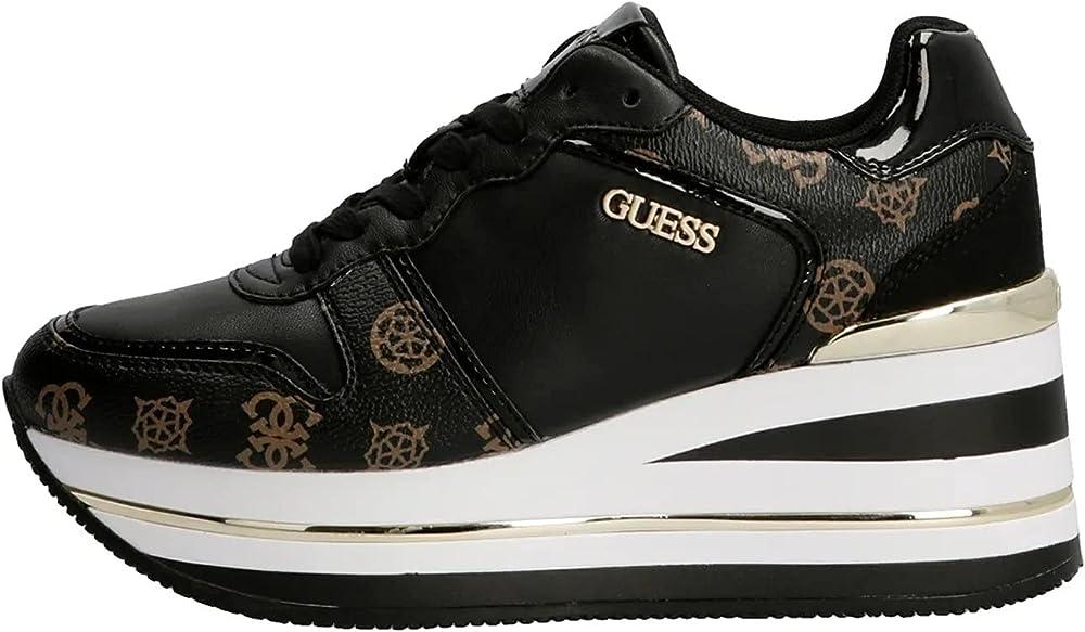 Guess scarpe sneakers da donna in pelle e ecopelle D22GU05_35