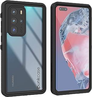 Punkcase Huawei P40 Pro Waterproof Case [StudStar Series] [Slim Fit] [IP68 Certified] [Shockproof] [Dirtproof] [Snowproof]...