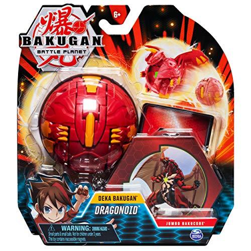 Bakugan Deka, Dragonoid, Jumbo Collectible Transforming Figure, for Ages 6 and Up