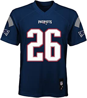 Outerstuff Sony Michel New England Patriots NFL Youth 8-20 Navy Home Mid-Tier Jersey