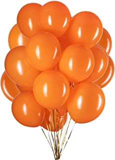 12 inch Orange Latex Balloons Helium Balloons Quality Orange Balloons Party Decorations Supplies Pack of 100