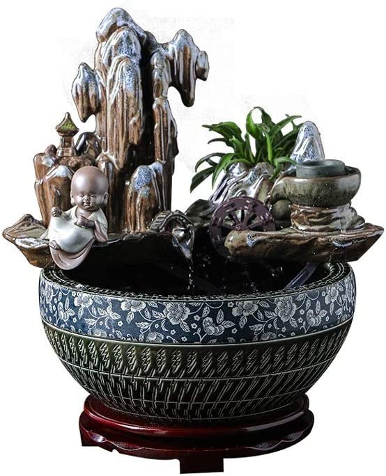 CDDJJ Ceramic Fish High quality Tank Desktop Decoration Direct store Living Water Flowing