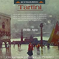 Violin Concertos 1 by GIUSEPPE TARTINI (1995-01-01)