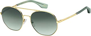 MARC JACOBS Marc 327/S IR Glasses, Green/GY Grigio, 57 Women