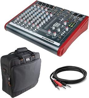 "Allen & Heath ZED-10 Multipurpose Mini Mixer with Gator Cases G-MIXERBAG 1515 Mixer Bag & 1/4"" Male Insert Y-Cable 3.3' Bundle"