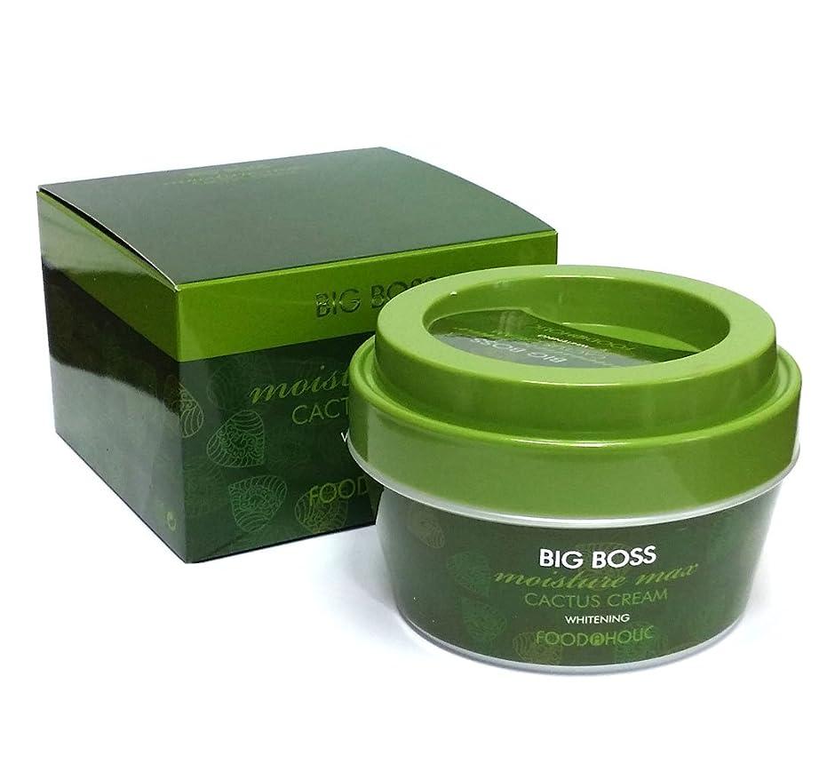 デモンストレーション低下申請中[FoodaHolic] ビッグボスモイスチャーマックスサボテンクリーム300g / Big Boss Moisture Max Cactus Cream 300g / ホワイトニング / Whitening / 韓国化粧品 / Korean Cosmetics [並行輸入品]