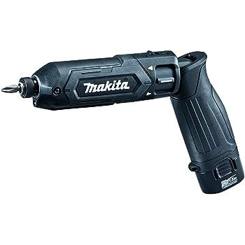 マキタ ペン型インパクトドライバTD022(7.2V)黒 トルク25Nm 1.5Ahバッテリ2本・充電器付 TD022DSHXB