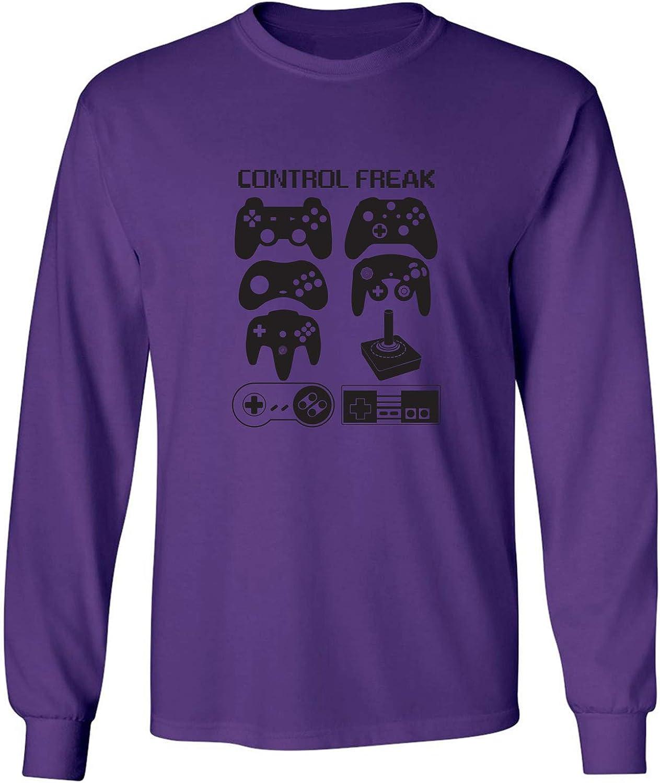 zerogravitee Control Freak Adult Long Sleeve T-Shirt