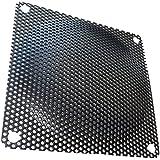 AERZETIX: 2 x Rejilla de protección 92x92mm ventilación para Ventilador de Caja de Ordenador PC C15149