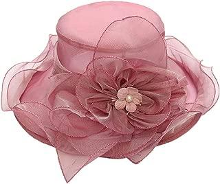hositor Kentucky Derby Hats for Women, Women's Church Kentucky Derby Fascinator Bridal Tea Party Wedding Hat