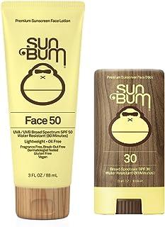 Sun Bum Face Lotion (Face Lotion Spf 50 + Face Stick Spf 30)