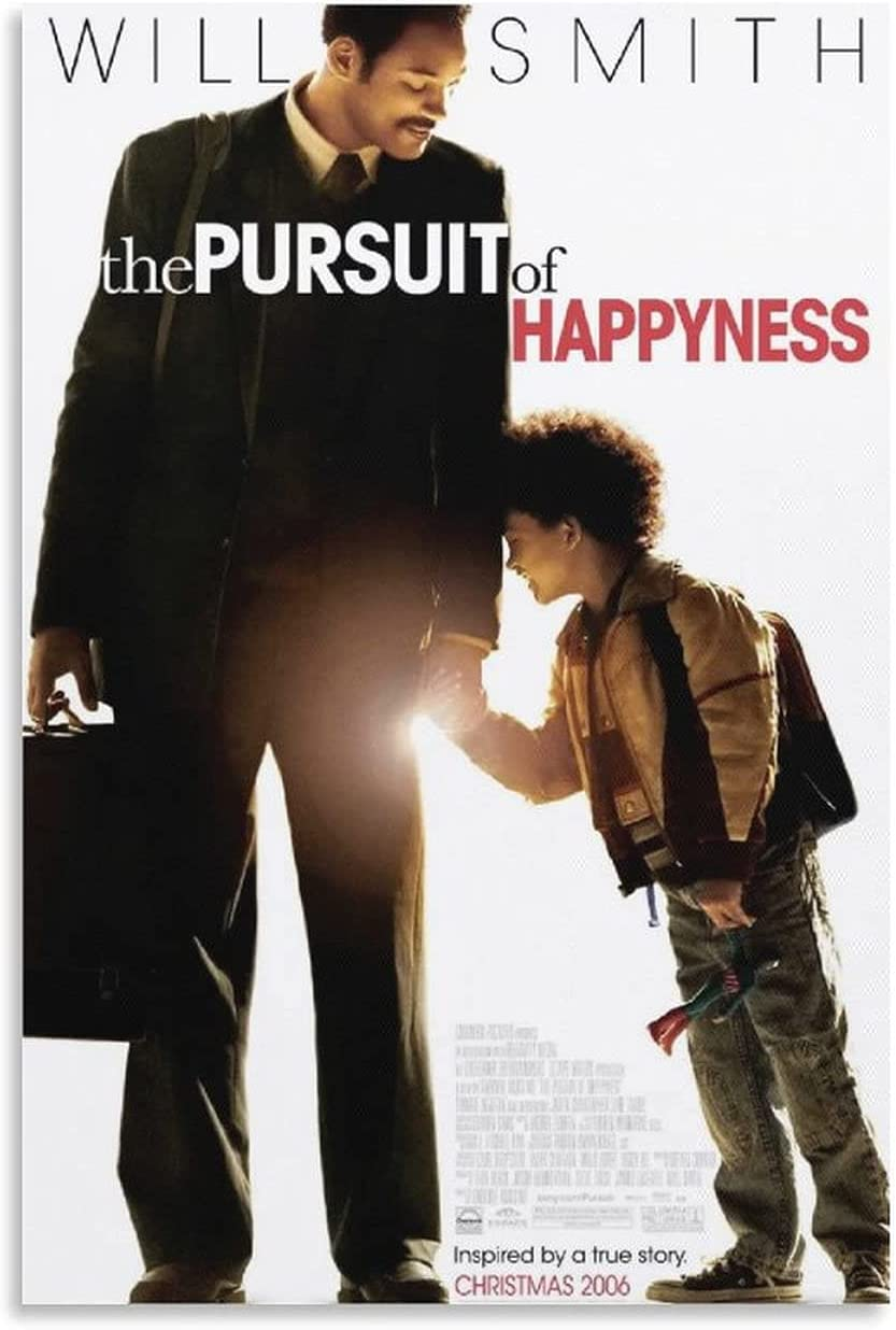 FASHIONDIY The Pursuit Popular shop is the lowest price challenge Baltimore Mall of Happyness Art Canvas Poster Film W
