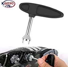 kaveno Golf Spike Wrench Two Pin Shoes Remover Tool Replacement Aid (Hand Shape)
