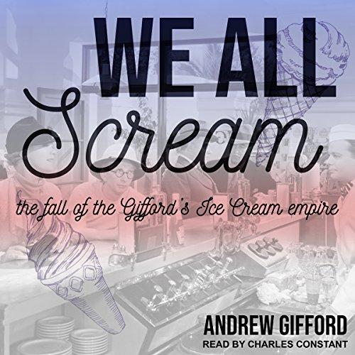 We All Scream audiobook cover art