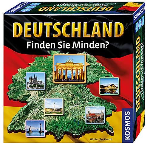 Deutschland - Finden Sie Minden?: für 2 -6 Spieler ab 10 Jahren