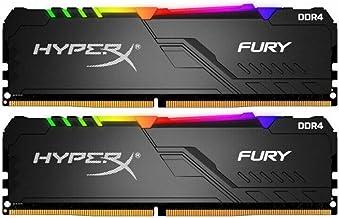 KINGSTON Hyperx Fury RGB 16GB (2X8) 3200Mhz DDR4 Soğutuculu CL16 Pc Ram HX432C16FB3AK2/16