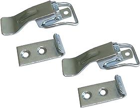 Aerzetix C42277 2 x kliksluiting met veersluiting, B 21 mm x 76,5 mm