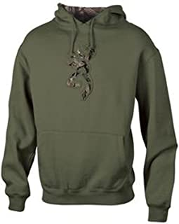 Men's Buckmark Hoodie Medium Clover Green