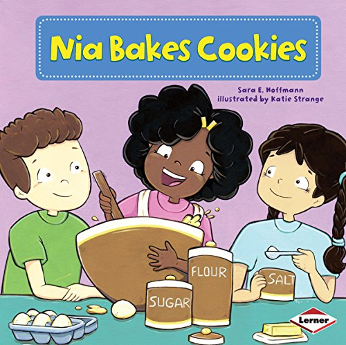 Nia Bakes Cookies copertina