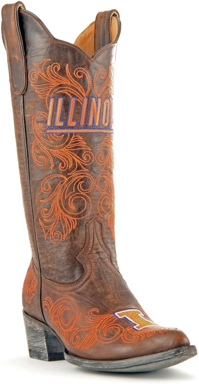 NCAA Illinois Illini Women's 13Inch Gameday Boots