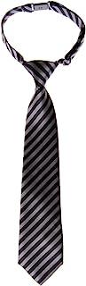 Retreez Striped Woven Pre-tied Boy's Tie - Various Colors