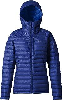 RAB Microlight Alpine Long Jacket - Womens, Blueprint/Celestial, Extra Large, QDA-93-BP-16