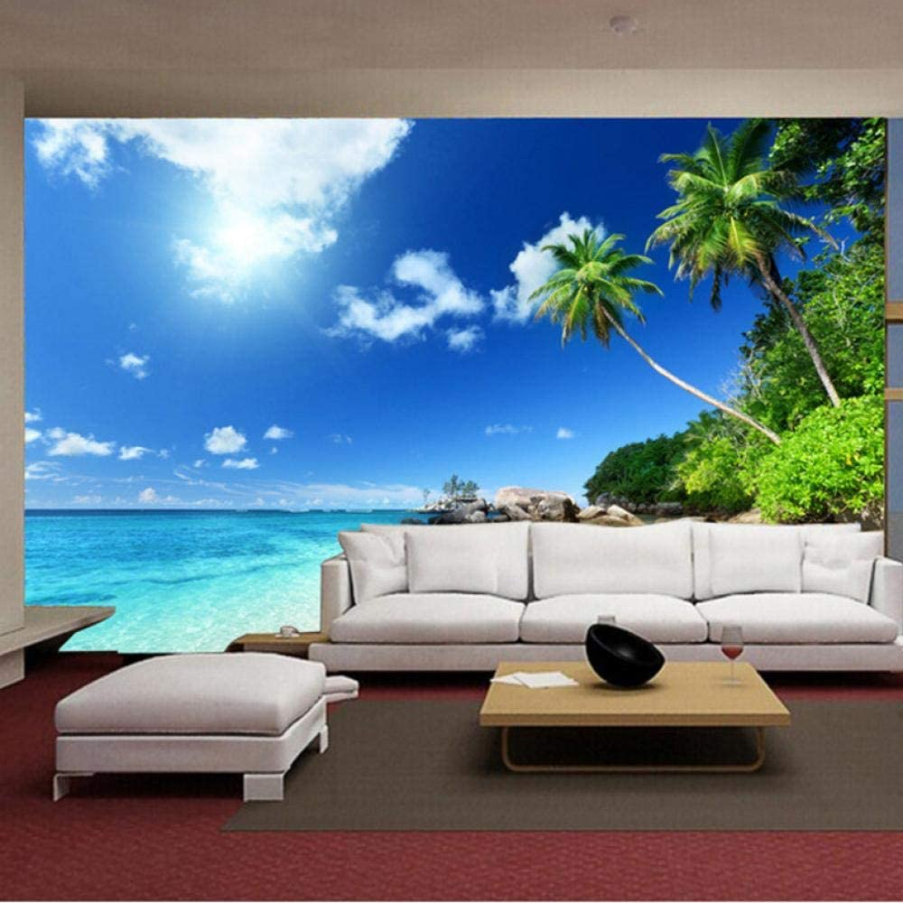 5 ☆ very popular Southeast Asia Seaside Sunny Beach Trees Free shipping / New Water Clean Count Blue