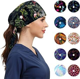 قبعات العمل الأنيقة مع أزرار قابلة للتعديل العصابة التعادل الخلفي قبعات العمل للنساء الرجال