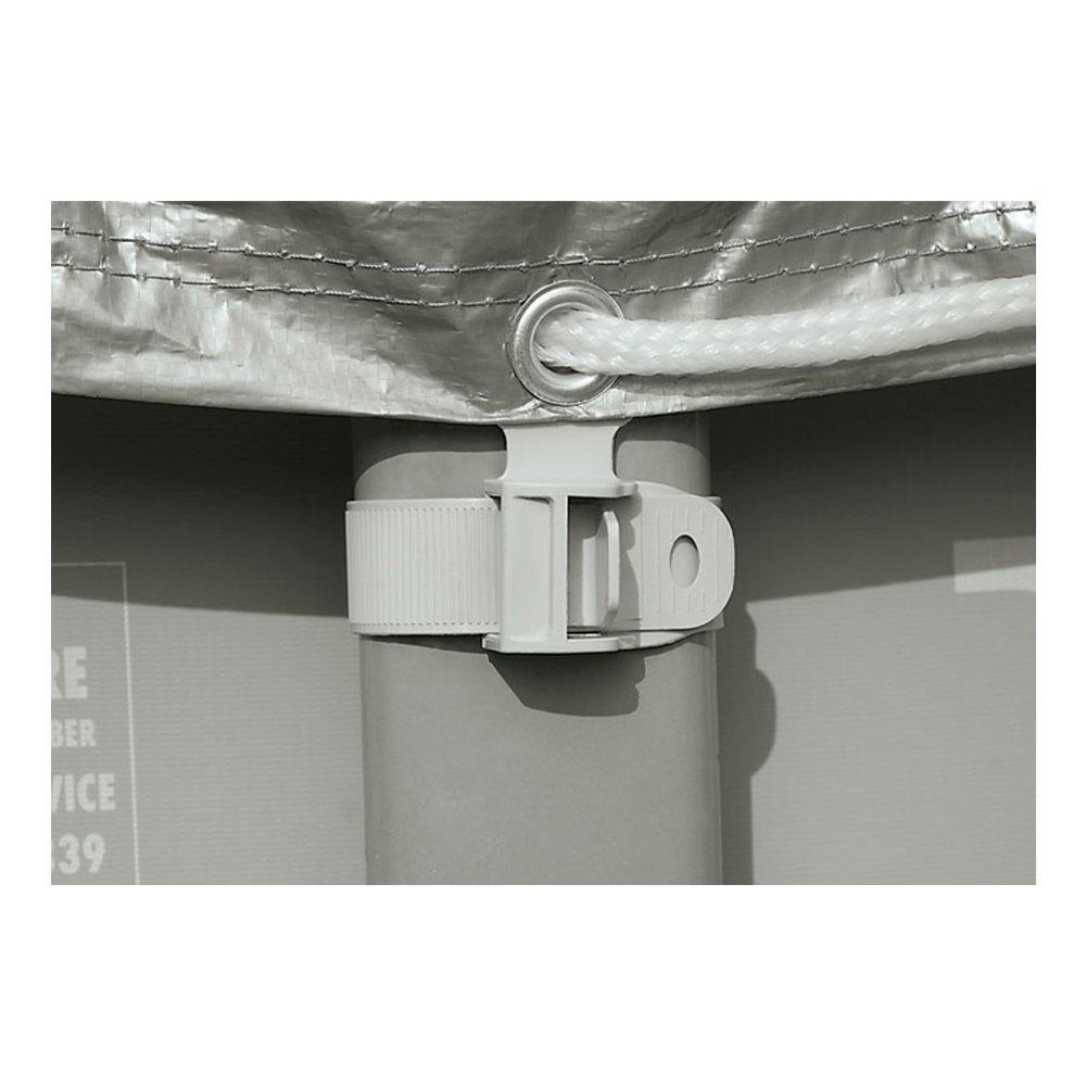 Intex 28040 - Cobertor piscina metálica Ultra Frame 488 cm con ...